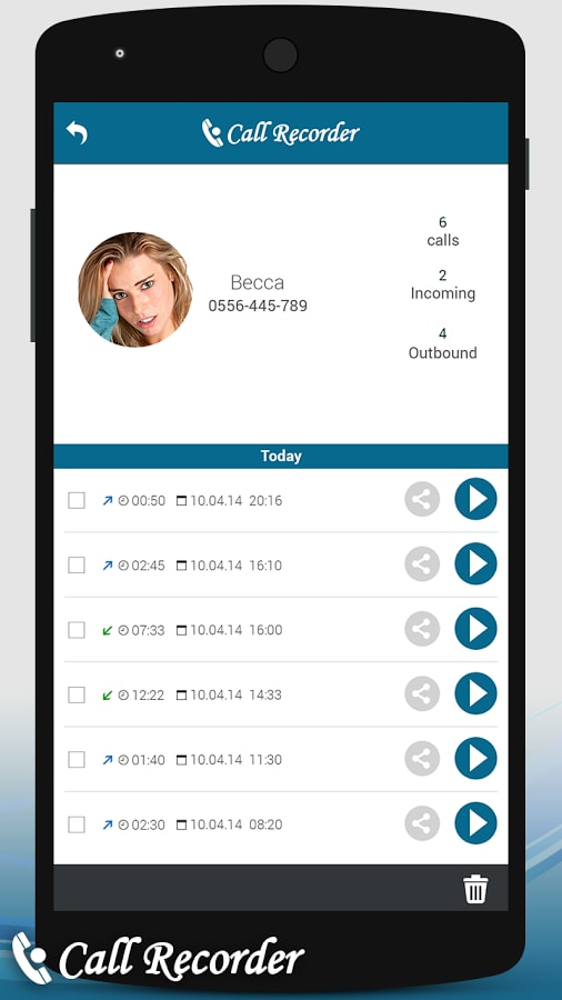 Record Phone Calls on Android-Call Recorder – Automatic
