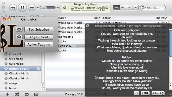 itunes lyric plugin get