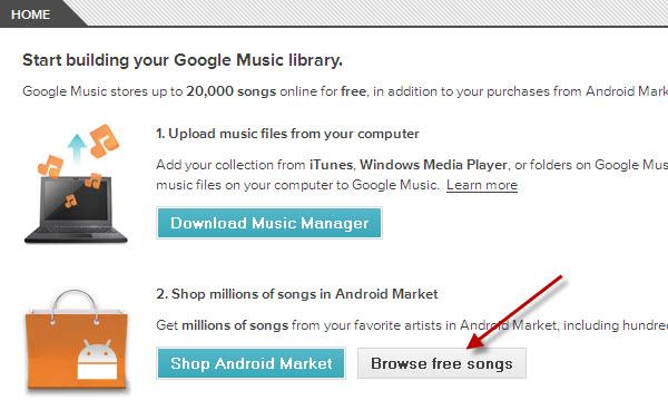 How to Download Free Songs from Google Music?