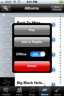 gmusic offline