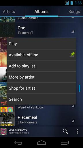 google music android player