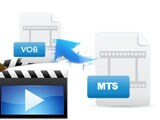 How to convert MTS/M2TS to VOB?
