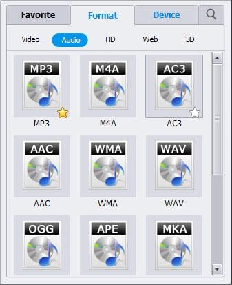MKV to MP3 converter