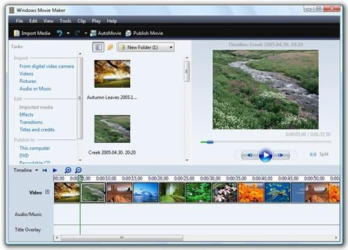 video transition software free