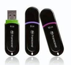recover lost data from Transcend flash drive