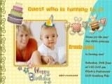 Make Unique Baby Birthday Invitations for the Big Event