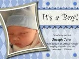 Birth Announcement Wording for Boys and Girls