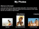 How to Create a Gallery Slideshow in iWeb