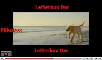 letterbox pillarbox
