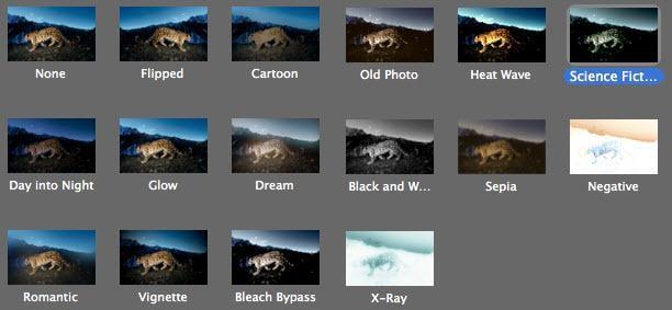 photo effect slideshow mac