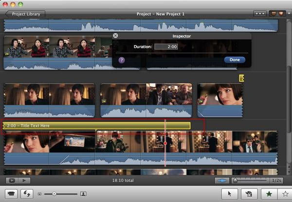 Add subtitle in imovie -3