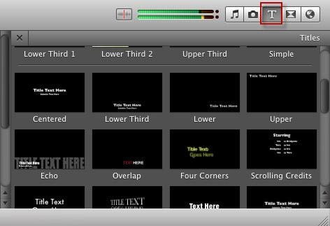 Add subtitle in imovie -1