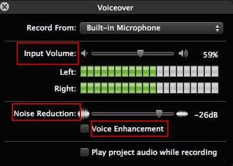 Öffnen Sie das VoiceOver-Fenster