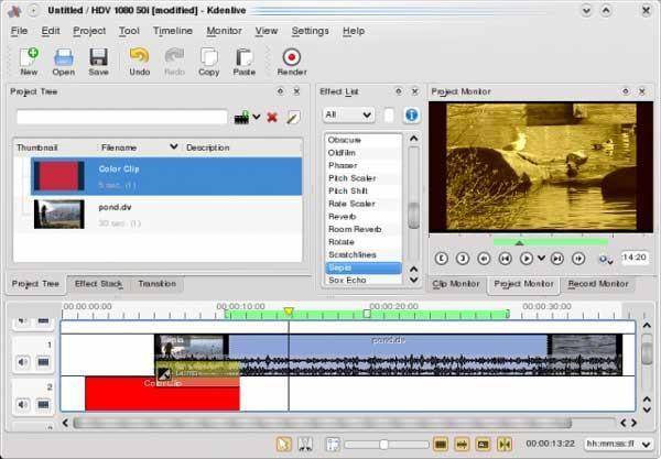 linux alternative to adobe premiere