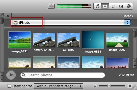 make imovie slideshow