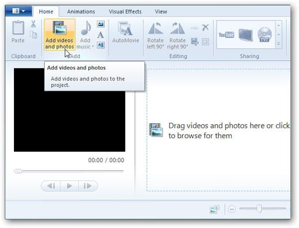 edit videos in windows live movie maker
