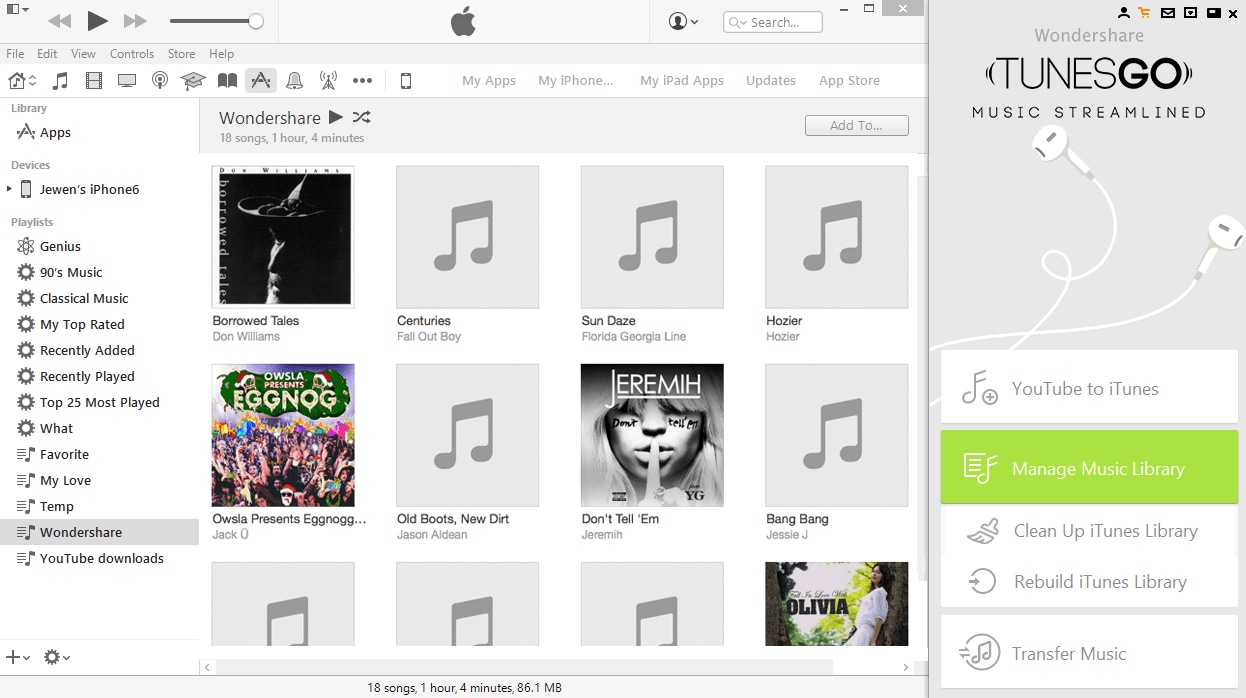 how to clear your apple music library