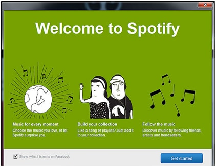Listen to Spotify Music Online with Spotify Desktop