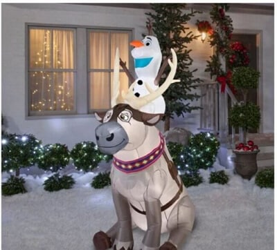 Outdoor Inflatable Christmas Decorations