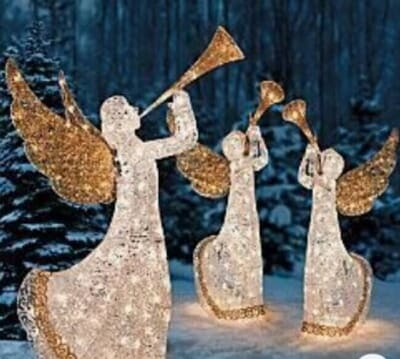 Outdoor Angel Christmas Decorations