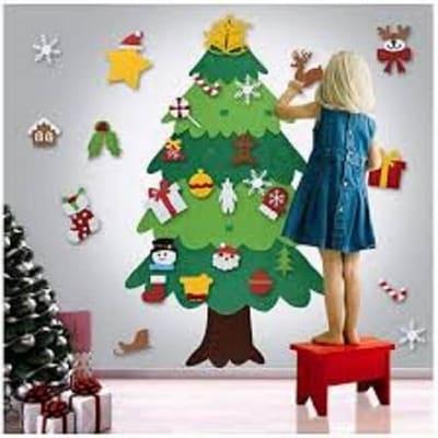 classroom wreath tree