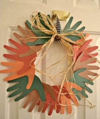 Fall-Themed Wreath