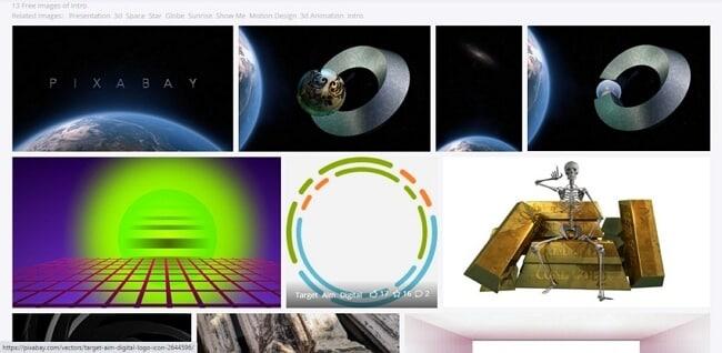youtube intro background site - Pixabay