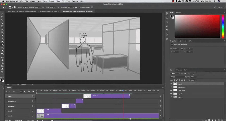 create animatics