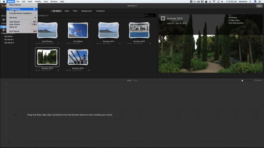 imovie slideshow 2.1