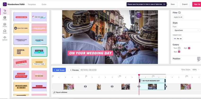 edit slideshow