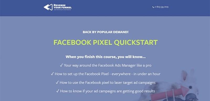 Facebook Pixel Quickstart