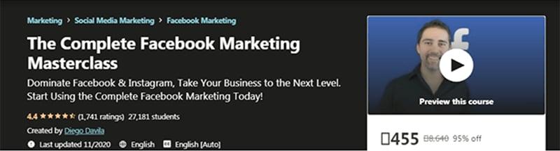 Complete Facebook Training (Incl Instagram Marketing)