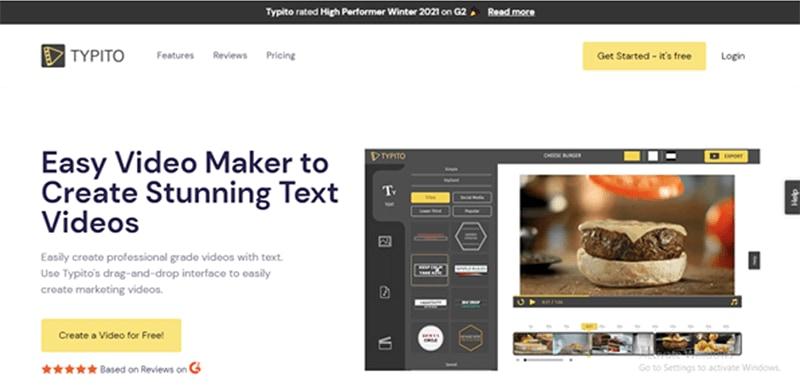 Typitofree video ad-maker