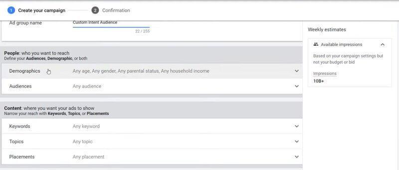 Customize campaign settings-2