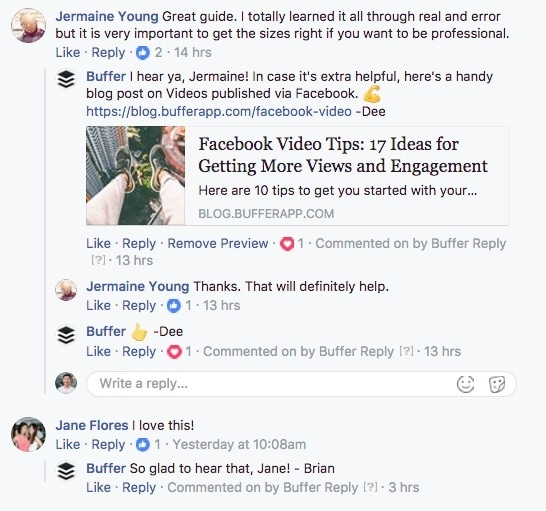 Facebook Affiliate Market - Actively Engaging with Fans