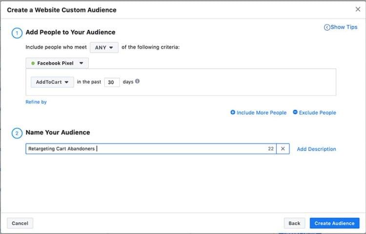 build a custom audience