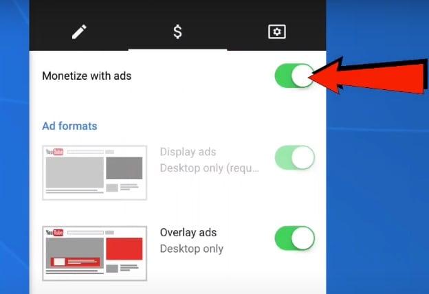 disable ads on youtube studio app