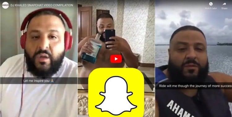 dj khaled snapchat all star