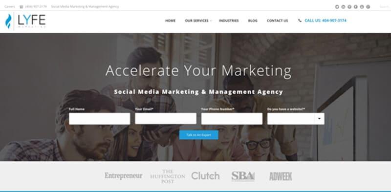 Facebook Ad Agencies - Lyfe Marketing