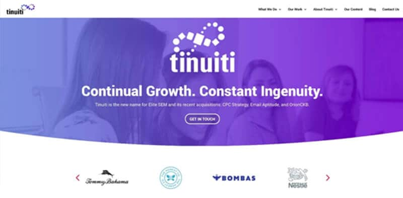 Facebook Ad Agencies - Tinuiti