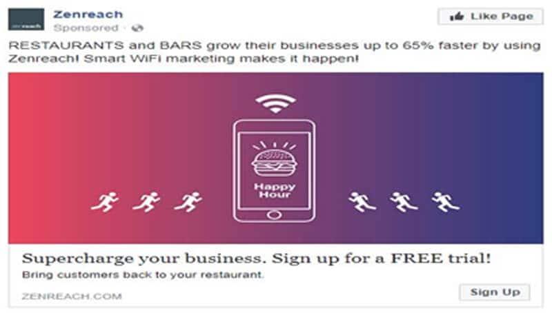 powerful fb ad