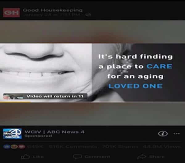ABC New 4 in-stream ads in Good Housekeeping Video