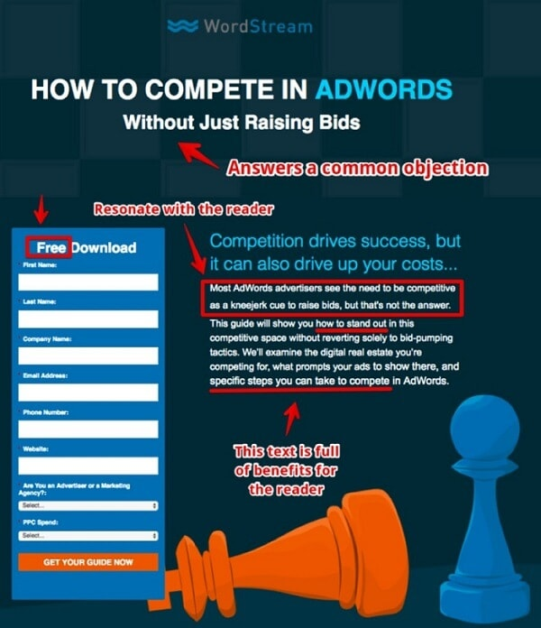 Facebook Lead Generation Ads - Lead Generation Offer