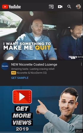 go to youtube