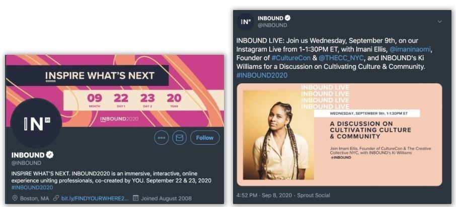 inbound twitter ad