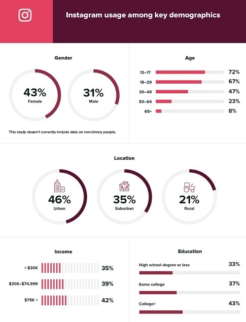 Instagram ads demographics