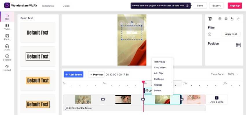 Create Instagram video