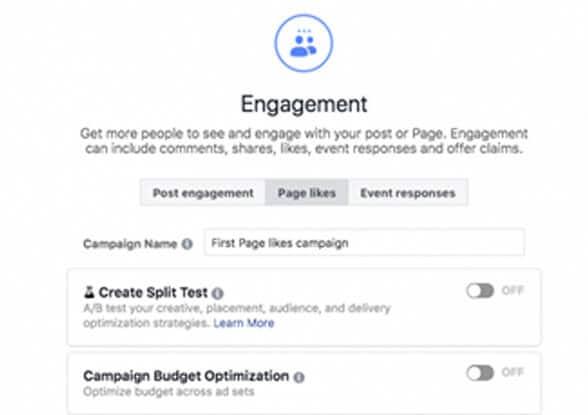 Creating a Facebook Campaign