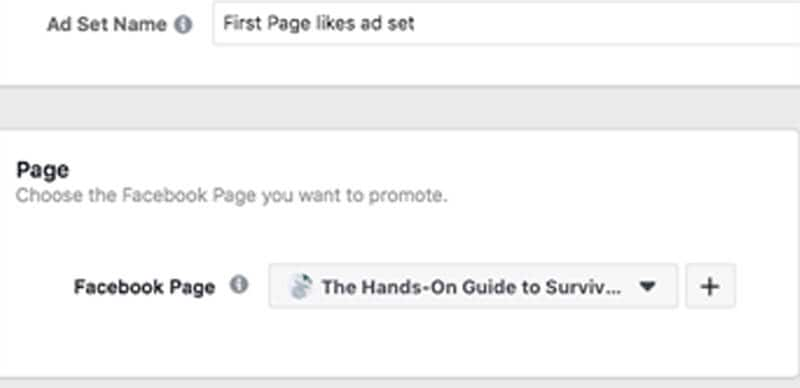 Setting up Facebook Ad Page