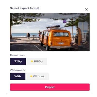 Export best advertising video